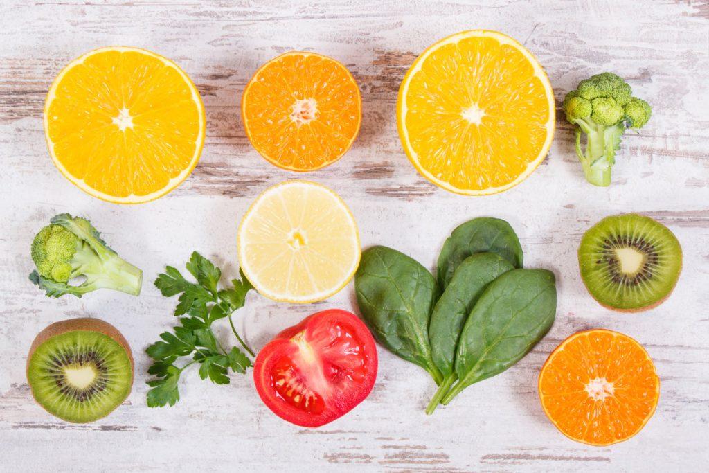 Warzywa i owoce - witaminy
